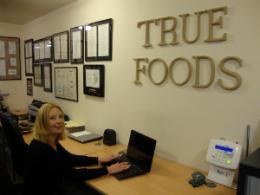 True Foods requested a Sony Vaio laptop as their gift